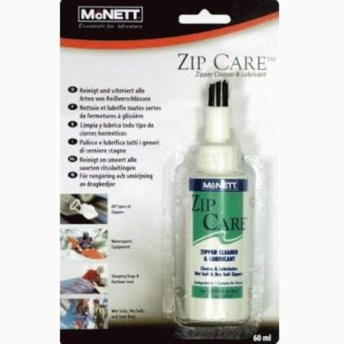 McNett Zip Care - Liquid Zipper Cleaner & Lubricant (2 oz)