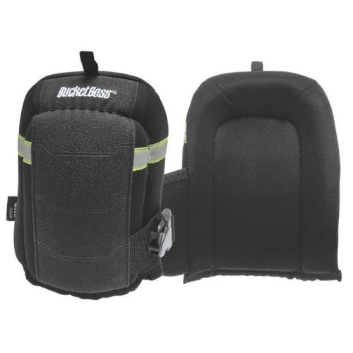 Black KneeKeeperHV GelFoam Non-Marring Flooring Knee Pad