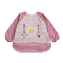 Lovely Baby Bibs Feeding Bib Kid's Apron Overclothes Waterproof Painting Smock N