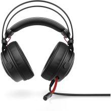 HP Omen 800 Binaural Head-band Black,Red headset