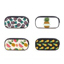 Large Capacity Cute Pineapple Pen Pencil Case School Stationery Cosmetic Bag