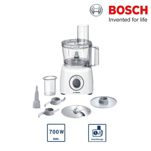 Bosch MCM3100WGB MultiTalent 3 Compact Food Processor 700W 2 Speed Settings