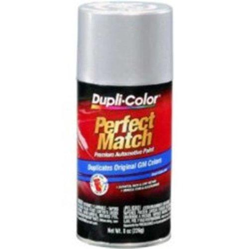 Krylon BGM0540 8 oz General Motors Exact-Match Automotive Paint, Light Slate Metallic