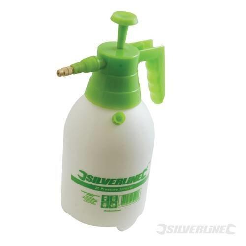 2l Silverline Pressure Sprayer -  pressure sprayer silverline 2ltr 282441 water