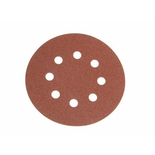 Faithfull FAIAD125120H Aluminium Oxide Disc DID3 Holed 125mm x 120g (Pack of 25)