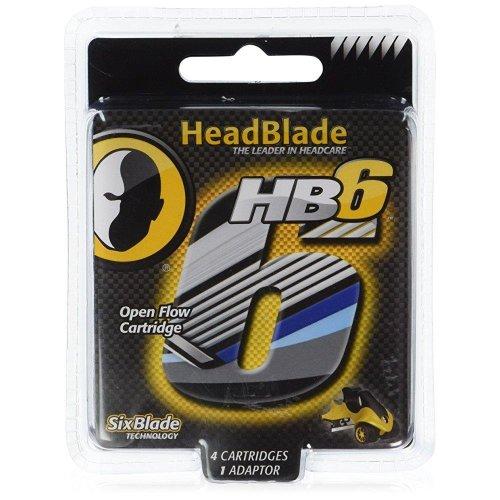 HeadBlade HB6 Replacement Cartridges