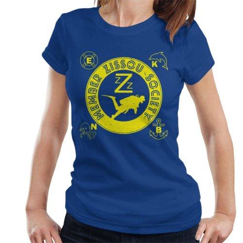 Life Aquatic Inspired Zissou Society Women's T-Shirt