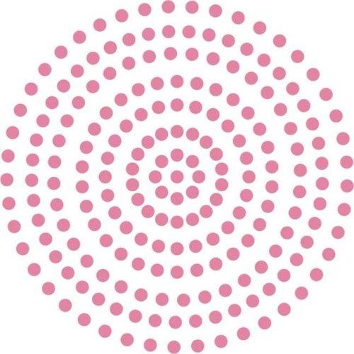 3 mm Self Adhesive Pearls - Pretty Pink, 206 per Pack