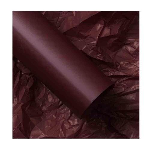 20 Sheets Waterproof Bouquet Wrap Flower Wrapping Paper Florist Supplies, Wine Red