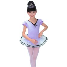 Girls Dress Ballet Skirt Tutu Dance Accessories Ballet Supply Dance Costumes, Purple