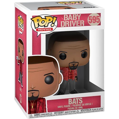 Funko Baby Driver: Bats Pop! Movies Collectable Vinyl Figure #595
