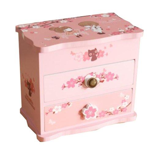 Country Style Jewelry Box Ornaments Storage Boxes Jewelry Organizer -06