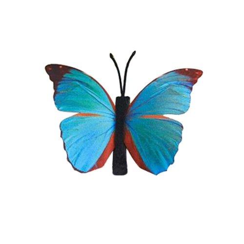 Set of 3 Butterfly Hair Pin Fashion Hair Clip Creative Hairpin,3.15'',Blue