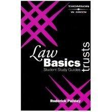 Law Basics Student Study Guides: Trusts
