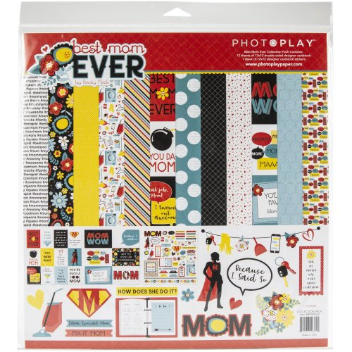 """Photoplay Collection Pack 12""""X12""""-Best Mom Ever"""