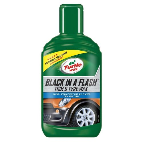 Turtle Wax Black in a Flash All in One Car Wax Restorer 300ml