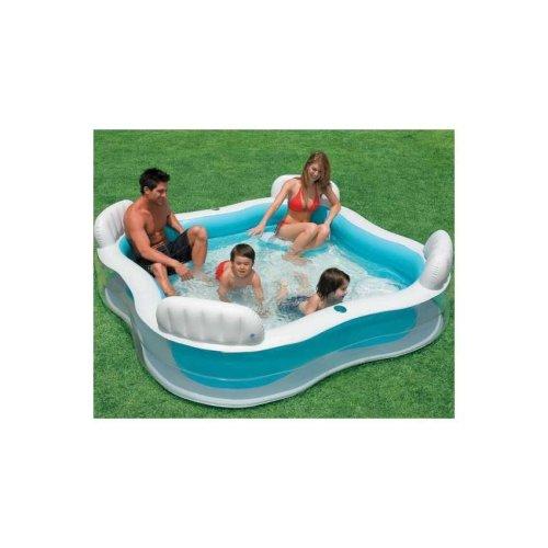 Intex 56475 inflatable kiddie pool with seats