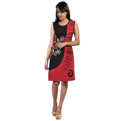 50/% OFF B17076119 Damen Violet Kleid Spaghettiträger geblümt Häkeleinsatz weiß
