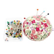 Wrist Wearable Pin Cushions and 50 Pins Set for Needlework - 07