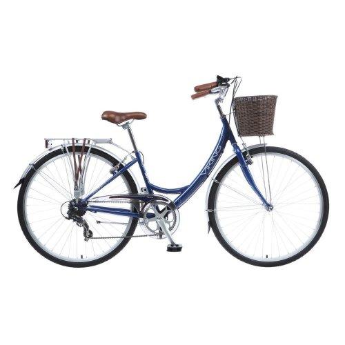 Viking Veneto Ladies 700c 7 Sp Traditional Heritage Bike Bicycle Basket Dutch