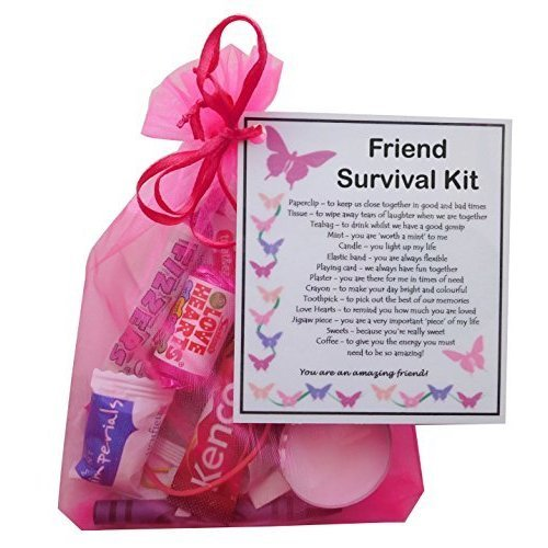 Friend Survival Kit Gift | Friendship Keepsake Gift