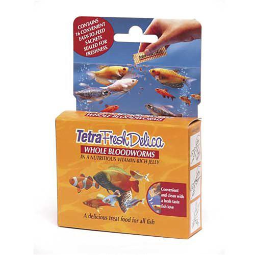 Tetra Fresh Delica Bloodworms 16x3g
