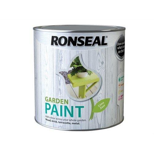 Ronseal 38512 Garden Paint Lime Zest 2.5 Litre