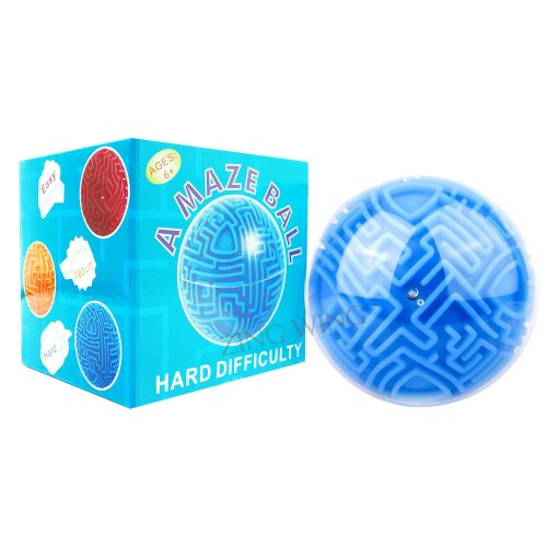 Magic Maze Ball for Kids Adults,Mini 3D Gravity Maze Bead Marble Ball  Classic Hard Puzzle Sequence Board Trouble Memory Brain Teasers Game Toys