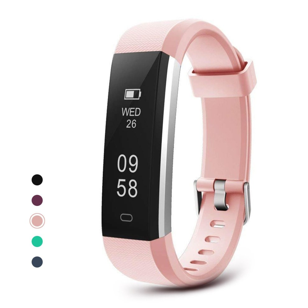 Letsfit Fitness Tracker, Waterproof Activity Tracker Watch, Pedometer  Watch, Sleep Monitor, Step Counter, Slim Smart Watch Sport Watch for Kids