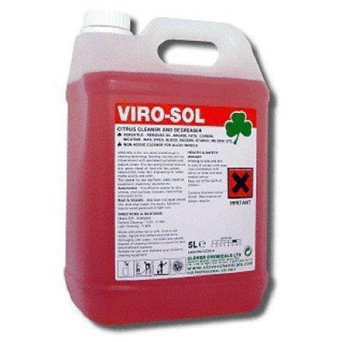 Viro-Sol Virosol Citrus Based Floor Universal Cleaner Degreaser 5Ltr
