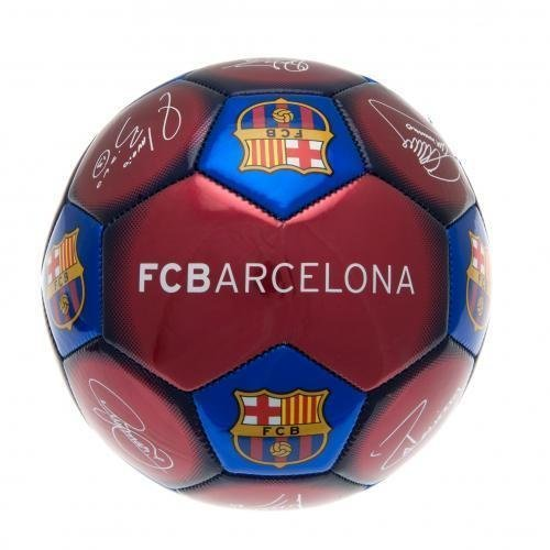 Barcelona Signature Football - Size 5 - Official Premier League Club Team -  official premier league football club team signatures souvenir signed