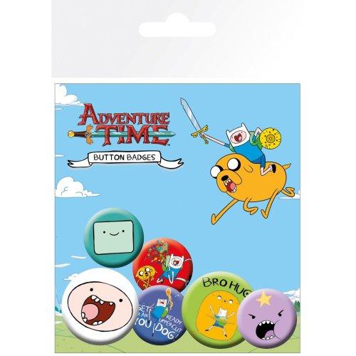 Adventure Time Finn Badge Pack