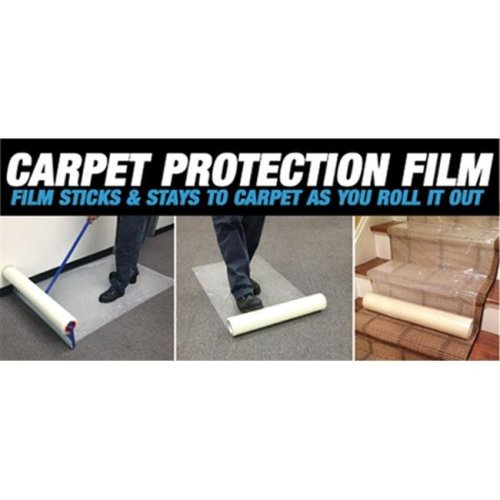 Zip-Up CPF36200 Carpet Protection Film, 36 x 200 Inches