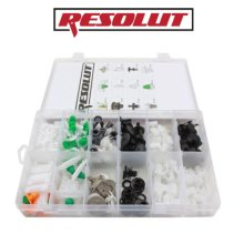 RESOLUT Audi Assorted Trim Clips 160 Pieces 9039