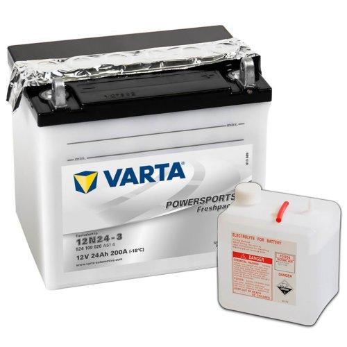 Varta Freshpack Battery 24 Ah 12N24-3