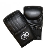 Extra Large Synthetic Leather Mitts -  fitness mad bag boxing mitt leather soft comfortable artificial elasticated punch mitts