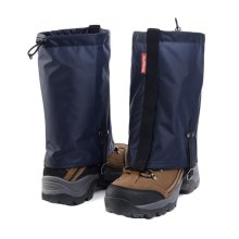 Waterproof Hiking/Climbing/Camping/Skiing Shoes Gaiters - M Navy