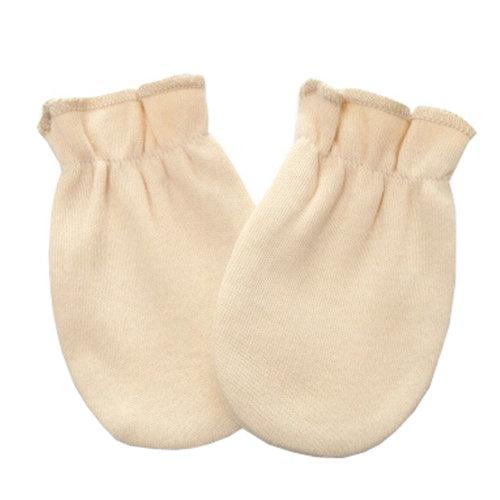 Warm Unisex-Baby Gloves Newborn Mittens Soft No Scratch Mittens, Yellow