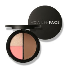 FOCALLURE 3 In 1 Shimmer Bronzer