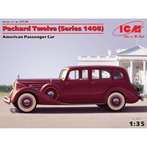 ICM 35536–1/35Packard Twelve Series 1408Plastic Model Kit