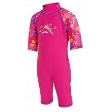 Sun Protection Swimsuit Mermaid Pink 1-2 years