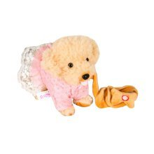 Electronic Simulation Toy Remote Control Electronic Pet-Pink/Flower