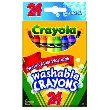 Crayola 52-6924 Washable Crayons 24/Pkg (3-Pack)