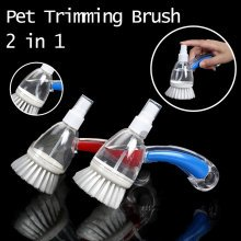 2 in 1 Pet Bath Brush Massage Brush