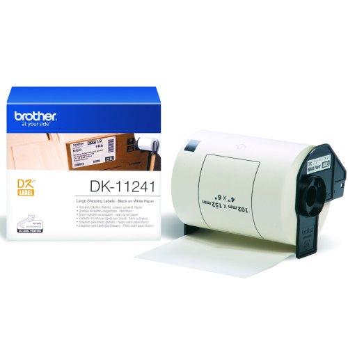 Brother DK-11241 White DK printer label