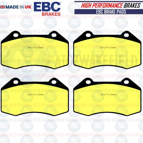FOR RENAULT MEGANE SPORT RS 265 FRONT EBC YELLOW STUFF BRAKE PADS PERFORMANCE