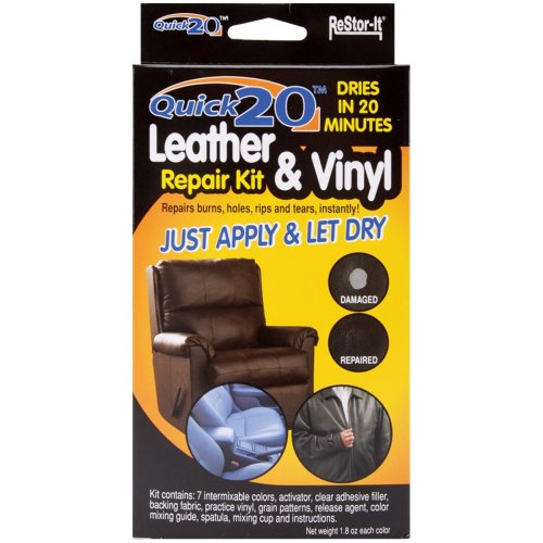 ReStor-It Quick 20 Leather & Vinyl Repair Kit | Leather Repair Kit