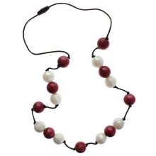 Gumibeads Necklace Cranberry