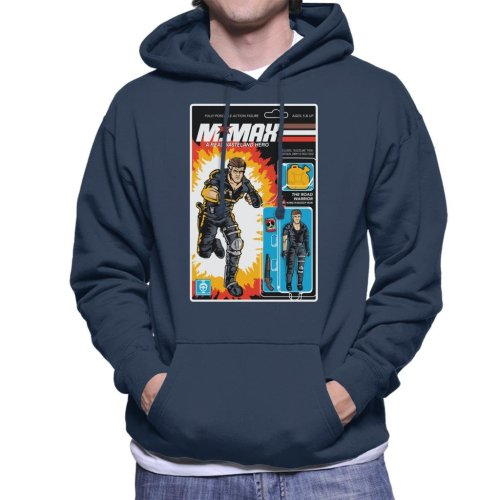 Real Wasteland Hero Action Figure Mad Max Men's Hooded Sweatshirt