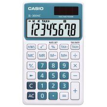 Casio SL-300NC Pocket Display calculator Orange